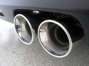 BMW 3シリーズのマフラー