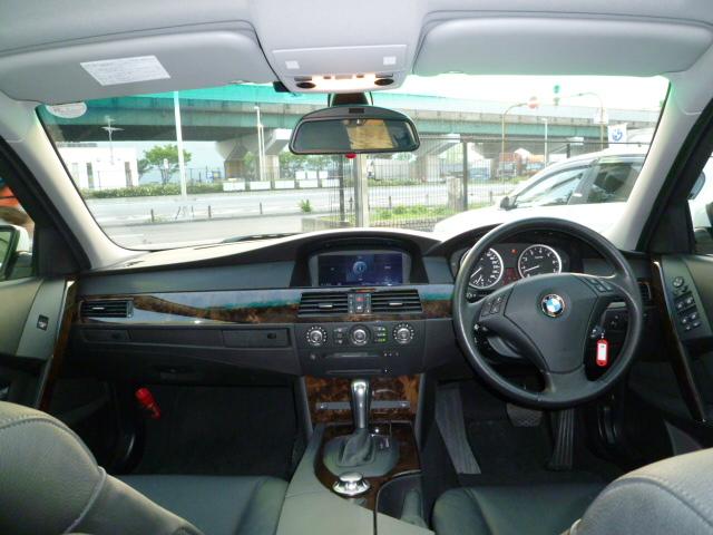 525i ハイラインビームコンプリートカー ブラックレザー 中期モデル車両画像03