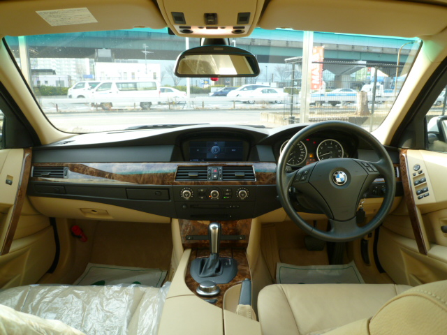 530i ハイラインBEAMコンプリート ベージュレザーシート プッシュスタート サンルーフ車両画像09