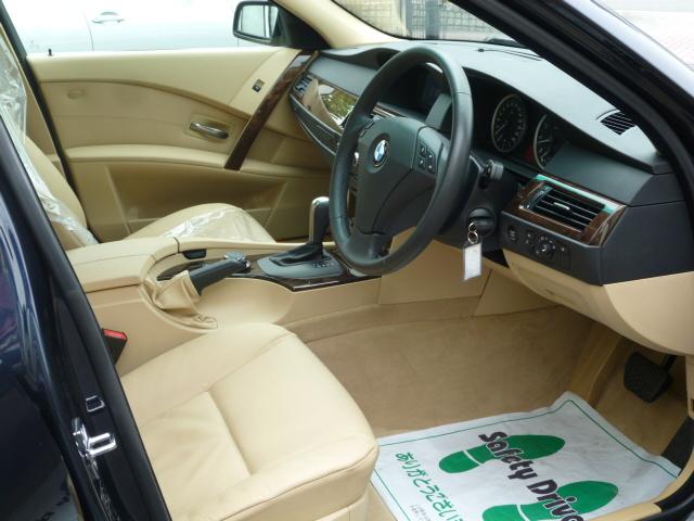 530i ハイラインBEAMコンプリート ベージュレザー ワンオーナー車両画像08