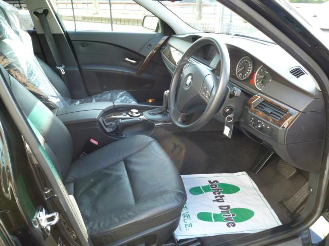 525iビームコンプリート ワンオーナー ブラックレザー車両画像03