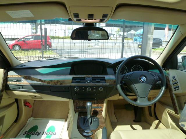 525iツーリングハイラインBEAMコンプリートカーStⅡ 中期モデル パノラマサンルーフ ベージュレザー車両画像11