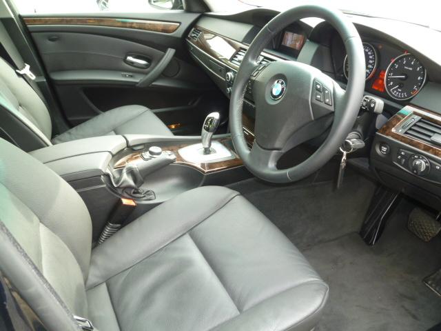 525iハイラインBEAMコンプリートカーStⅡ 最終モデル NEW iDrive ワンオーナー車両画像10
