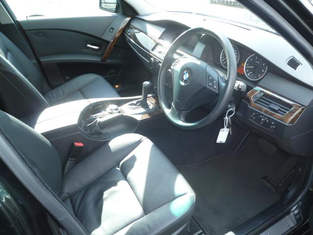 525iツーリングBEAMコンプリートカーStⅡ ブラックレザーシート 車両画像10