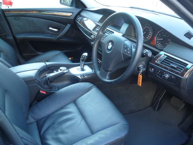 525iツーリングBEAMコンプリートカーStⅡ ブラックレザー ワンオーナー 電子シフト車両画像08