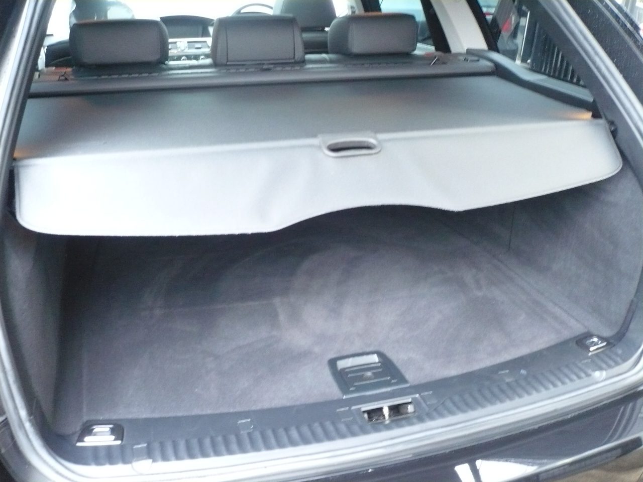 525iツーリングBEAMコンプリートカーStⅡ ブラックレザー ワンオーナー 電子シフト車両画像13