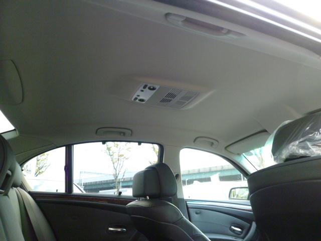 525iハイラインパッケージ 後期モデル 電子シフト ブラックレザー ワンオーナー車両画像14
