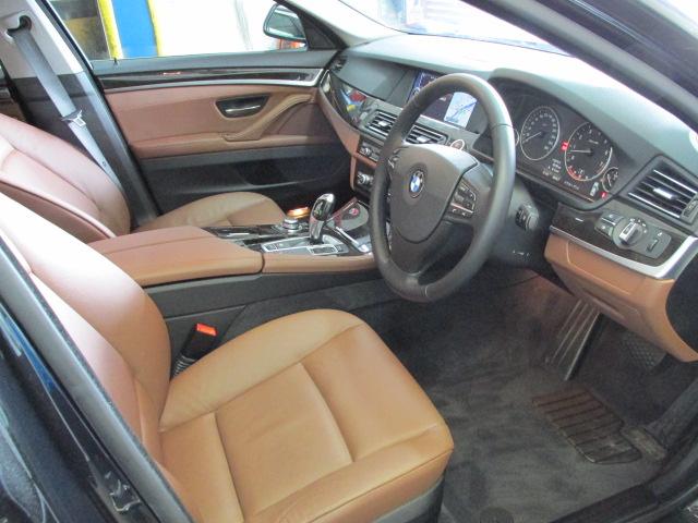 528iBEAMコンプリートカー ブラウンレザー サンルーフ ソフトクローズ車両画像12