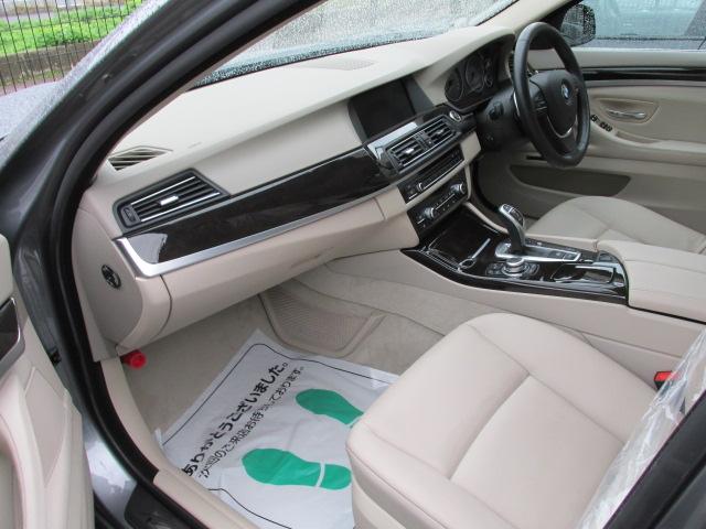 523iハイラインBEAMコンプリートカー 淡革 本革ステア パドルシフト ワンオーナー車両画像13