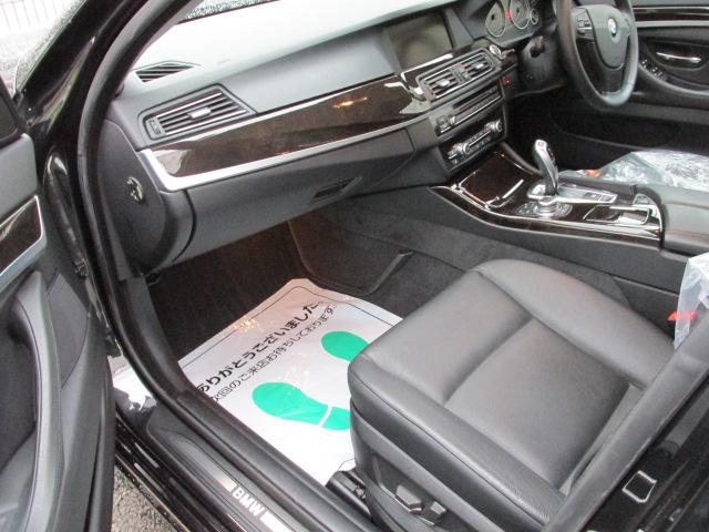 523iBEAMコンプリートカー ワンオーナー アイドルストップ 黒革 2000ccターボ車両画像12