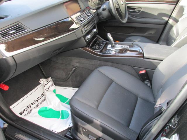 528iBEAMコンプリートカー ブラックレザー ワンオーナー 地デジ バックカメラ車両画像12