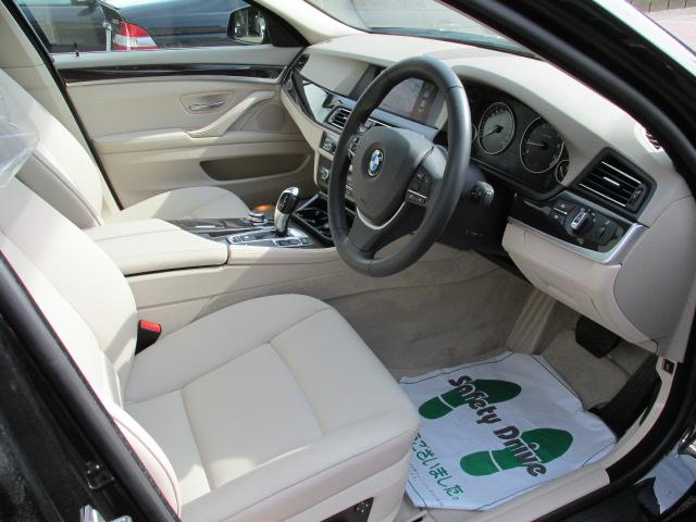 528iBEAMコンプリートカー  ベージュレザーシート サンルーフ車両画像12
