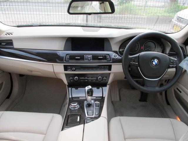 528iBEAMコンプリートカー  ベージュレザーシート サンルーフ車両画像10