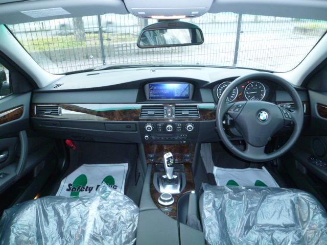 525i 後期モデル BEAMコンプリートカーStⅡ ブラックレザーシート 電子シフト車両画像09