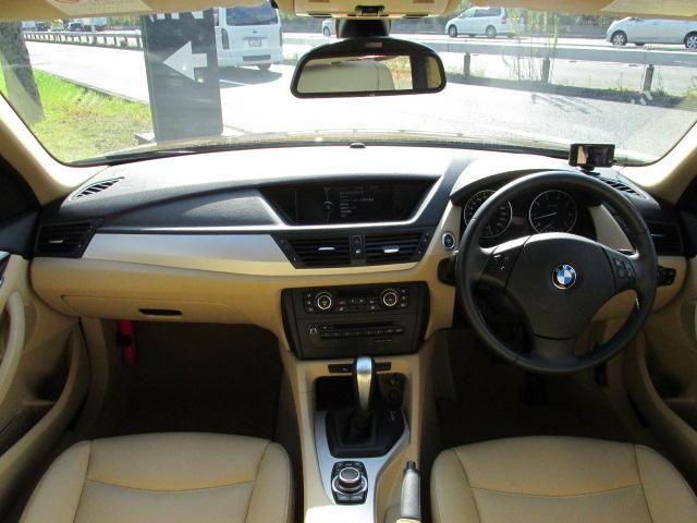 X1 sDrive 18i ハイライン べージュレザー サンルーフ  バックカメラ 純正HDDナビ車両画像10