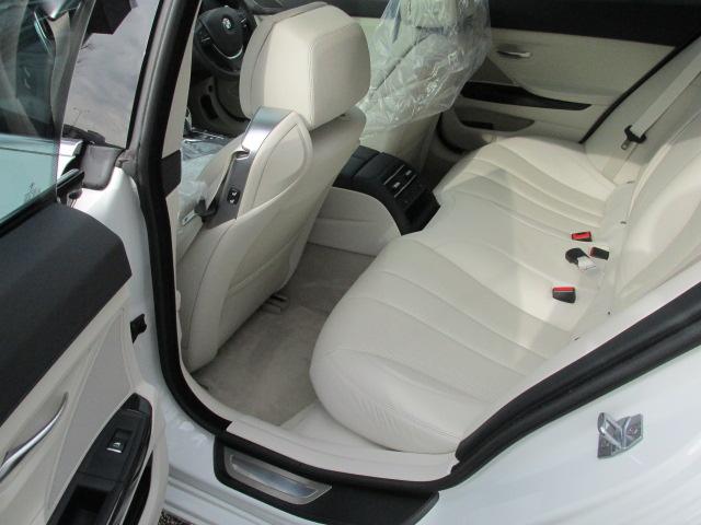 640iグランクーペ BEAMコンプリートカー コンフォートパッケージ LEDヘッドライト SR 白革 ワンオーナー車両画像15