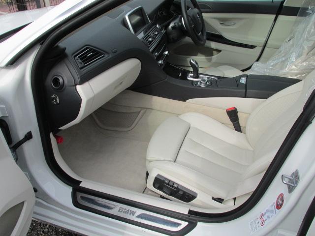 640iグランクーペ BEAMコンプリートカー コンフォートパッケージ LEDヘッドライト SR 白革 ワンオーナー車両画像14