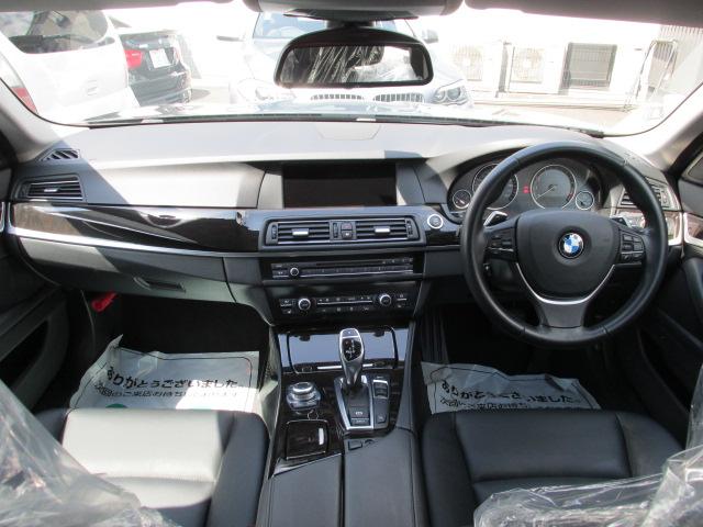 528iBEAMコンプリートカー ブラックレザー パドルシフト 本革レザーステア車両画像10