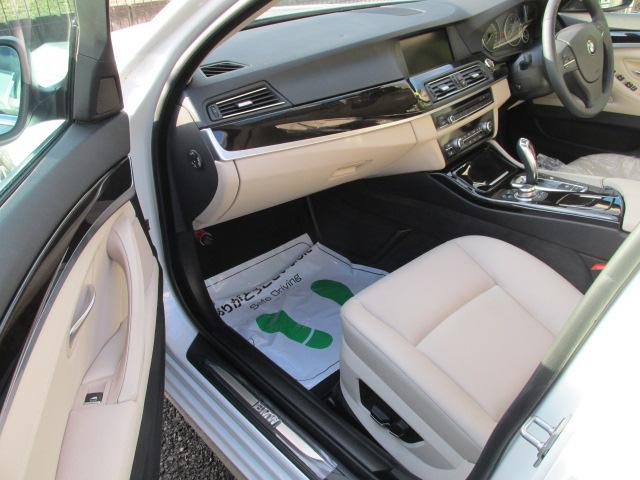 528i BEAMコンプリートカー ワンオーナー ターボ ツートンベージュインテリア車両画像13