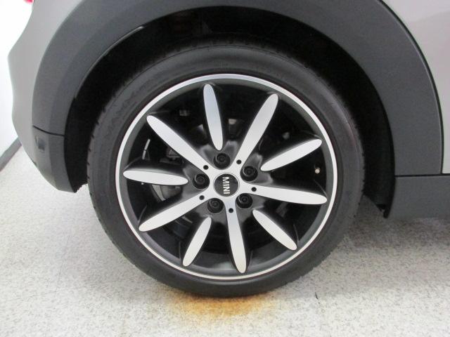 MINI クーパーSコンバーチブル 茶革 ワンオーナー ユアーズ幌 スマートキー アクティブクルーズ車両画像14