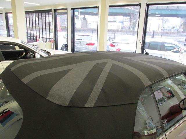 MINI クーパーSコンバーチブル 茶革 ワンオーナー ユアーズ幌 スマートキー アクティブクルーズ車両画像13