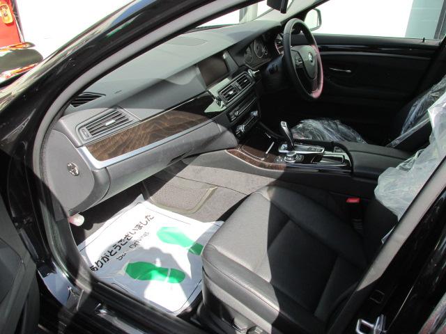 523iツーリングハイラインBEAMコンプリートカー 黒革 2000ccターボ アイドルストップ車両画像13