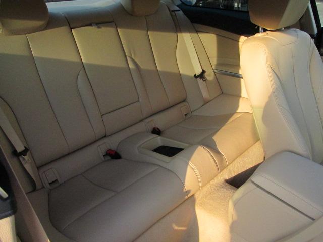 420iクーペ ラグジュアリー ワンオーナー ベージュレザー パドルシフト ACC車両画像13