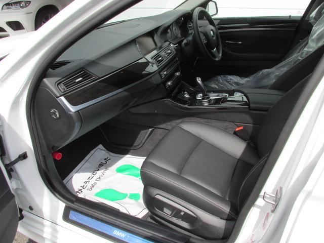 523iラグジュアリー  BEAMコンプリートカー ACC ブラックレザー ワンオーナー車両画像12