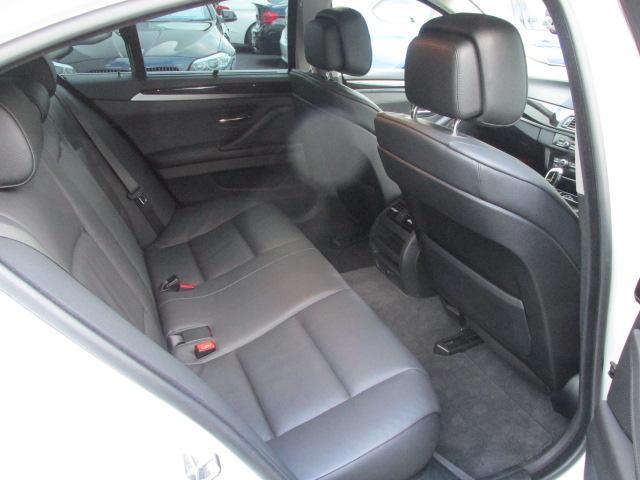 535i BEAMコンプリート ブラックレザーシート シートヒーター車両画像12