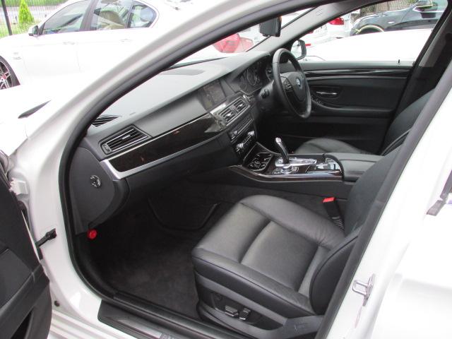 535i BEAMコンプリート ブラックレザーシート シートヒーター車両画像11