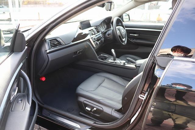 420iグランクーペ ラグジュアリー ブラックレザー ACC 衝突軽減車両画像14
