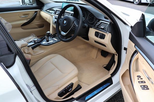 420iグランクーペ ラグジュアリー BEAMコンプリートカー ACC 衝突軽減B 淡革車両画像11