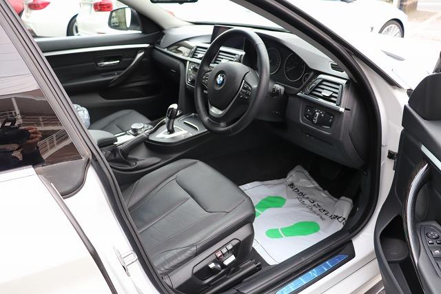 420iグランクーペ ラグジュアリーBEAMコンプリートカー ワンオーナー ブラックレザー ACC車両画像11
