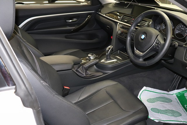 420iクーペ ラグジュアリー BEAMコンプリートカー 黒革 地デジ車両画像13