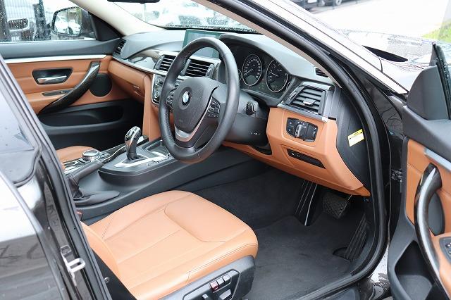 420i グランクーペ ラグジュアリー BEAMコンプリートカー ACC ブラウンレザー 車両画像12