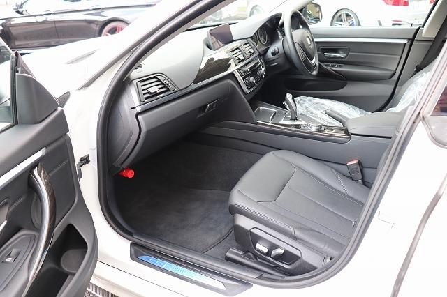 420iグランクーペ ラグジュアリーBEAMコンプリートカー ワンオーナー ブラックレザー ACC車両画像13
