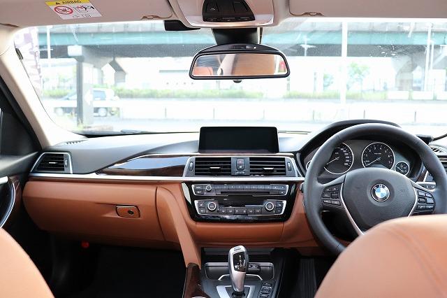 320iラグジュアリーBEAMコンプリートカー 茶革 ヘッドアップディスプレイ 全周囲カメラ車両画像10