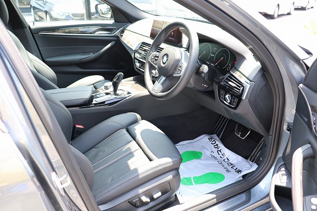 530e Mスポーツアイパフォーマンス ブラックレザー BMWメーカー保証車両画像10