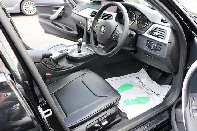 320i BEAMコンプリートカー ブラックレザー調シート ACC 衝突軽減ブレーキ レーンキープアシスト 車両画像11