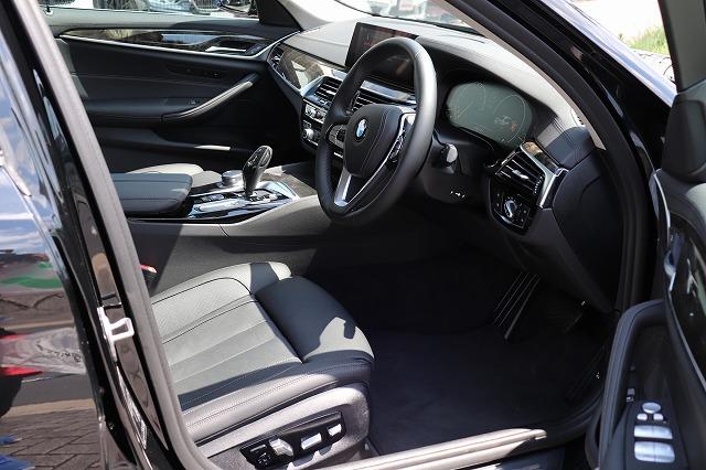 523dラグジュアリー BEAMコンプリートカー ワンオーナー 黒革車両画像12