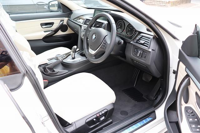 420iグランクーペ ラグジュアリー BEAMコンプリートカー ホワイトレザー車両画像10