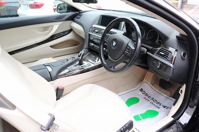 640iクーペ BEAMコンプリートカー 白革 LEDヘッド サンルーフ パドルシフト車両画像10