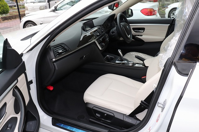 420iグランクーペ ラグジュアリー BEAMコンプリートカー ホワイトレザー車両画像12