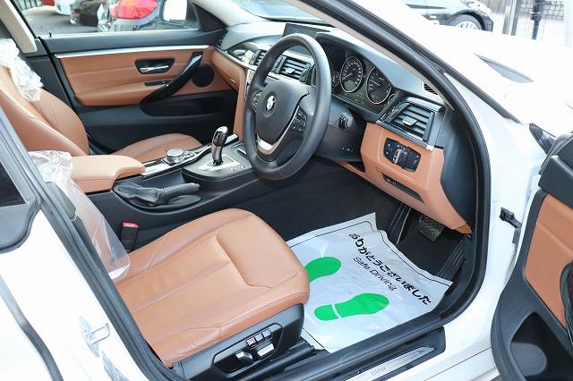 420iグランクーペラグジュアリー BEAMコンプリートカー ブラウンレザー ACC車両画像11