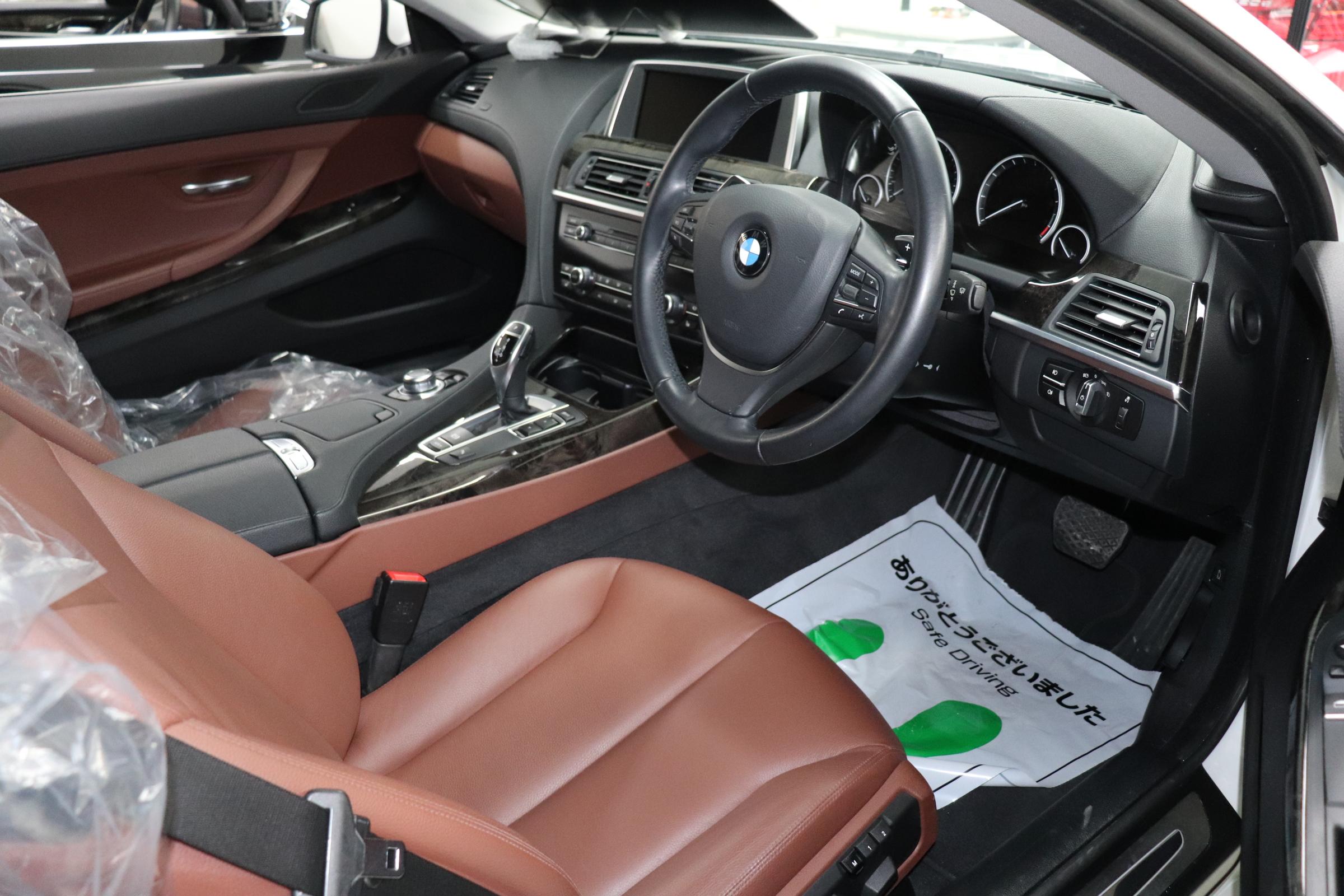640iクーペBEAMコンプリートカー  LEDヘッド サンルーフ ブラウンレザー車両画像11