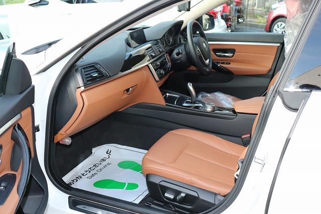 420iグランクーペラグジュアリー BEAMコンプリートカー ブラウンレザー ACC車両画像13