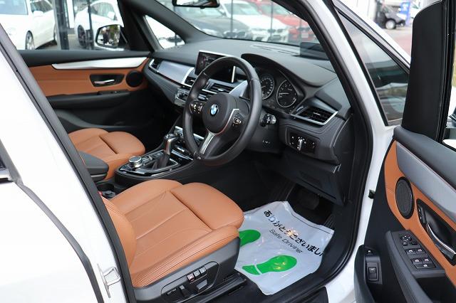 225xeアクティブツアラー Mスポーツパッケージ 茶革 コンフォートキー オートトランク車両画像11