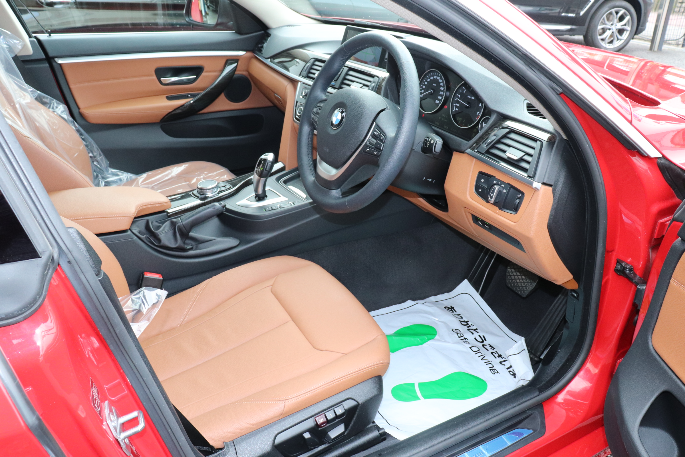 420iグランクーペラグジュアリーBEAMコンプリートカー 茶革 LEDヘッドライト車両画像11
