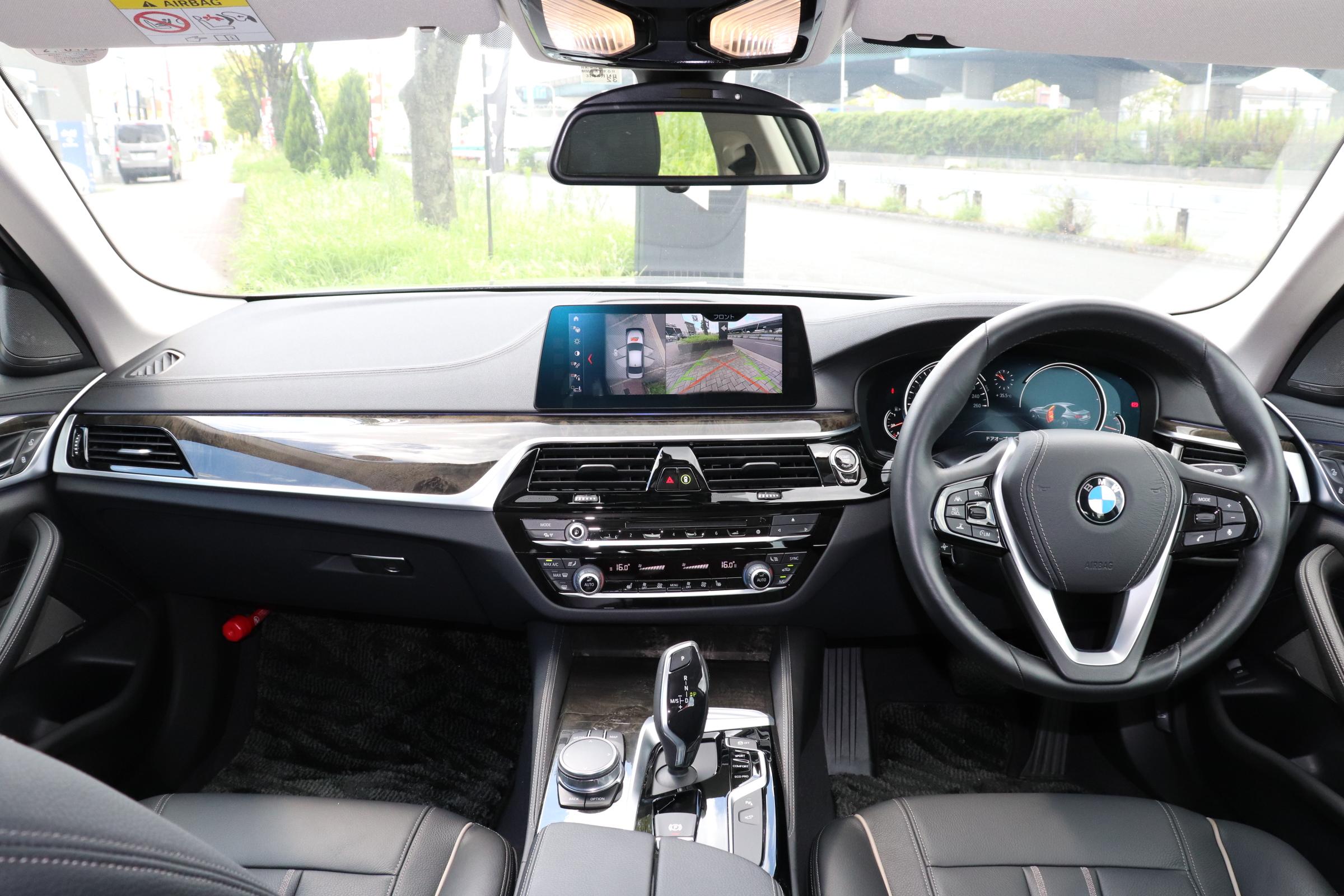 530iラグジュアリーBEAMコンプリートカー 黒革 ハーマンカードン車両画像10