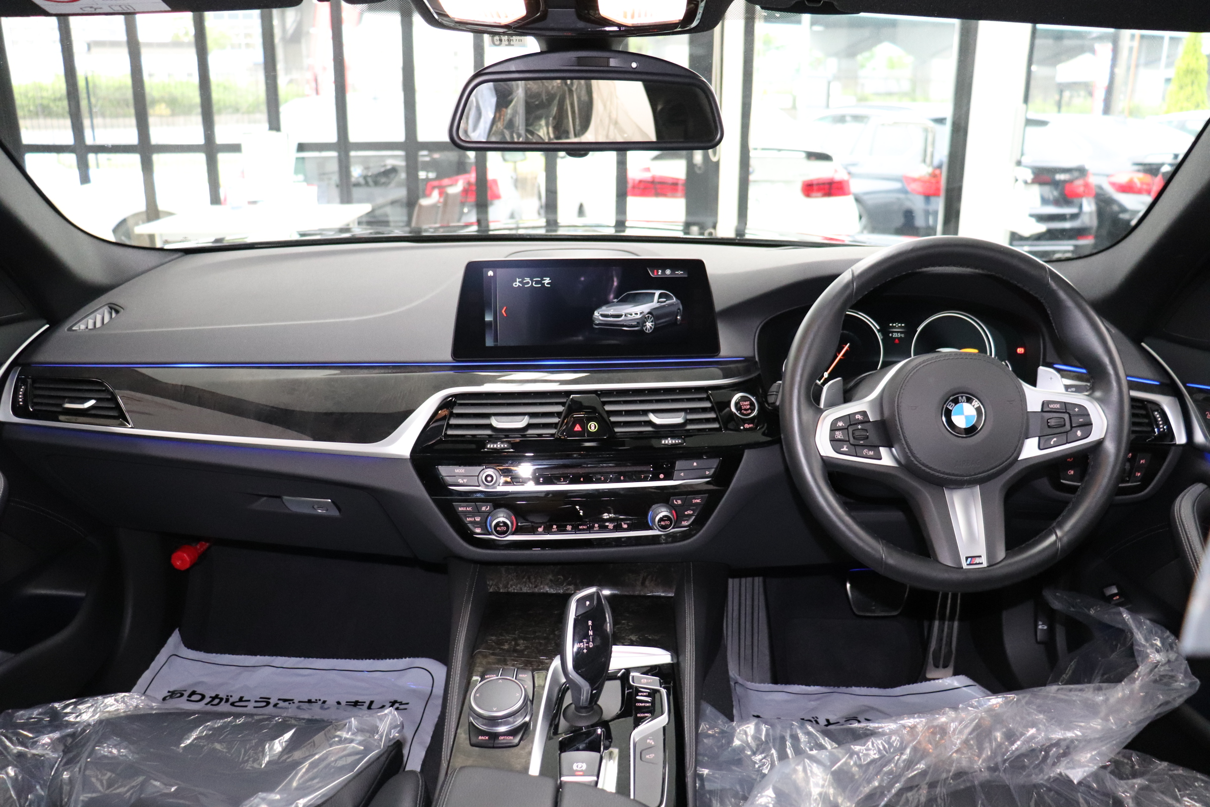 530i Mスポーツ ブラックレザー ヘッドアップディスプレイ ワイヤレス充電車両画像10